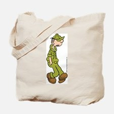 Funny Beetle bailey Tote Bag