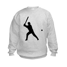 baseball player Sweatshirt
