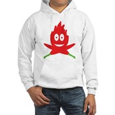 hot red chili peppers flame Hoodie