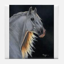 Andalusian Stallion 3 Tile Coaster