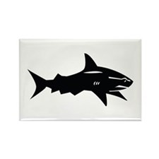 black shark Rectangle Magnet