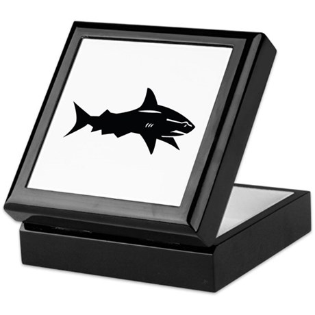 black shark Keepsake Box