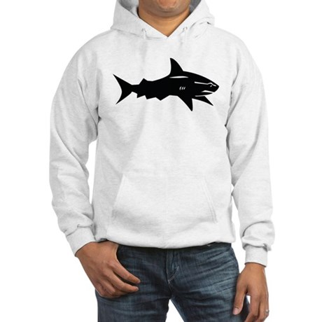 black shark Hooded Sweatshirt