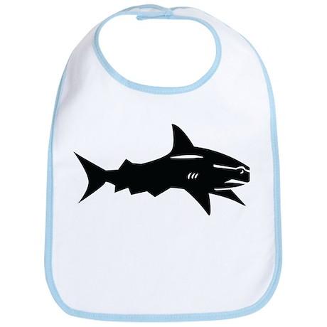 black shark Bib