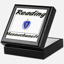 Reading Massachusetts Keepsake Box