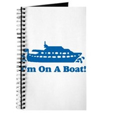 I'm On A Boat Journal