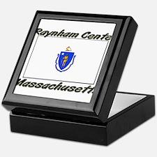 Raynham Center Massachusetts Keepsake Box