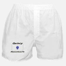 Quincy Massachusetts Boxer Shorts