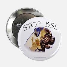 Bullmastiff Designs Button