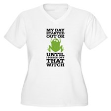 Funny Frog Mean W T-Shirt