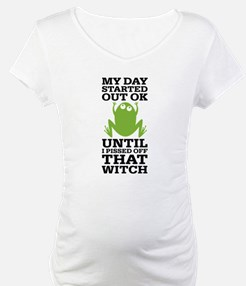 Funny Frog Mean Witch Shirt