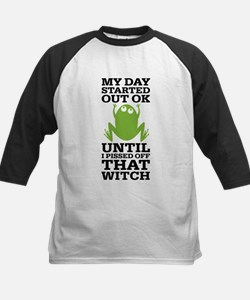 Funny Frog Mean Witch Tee