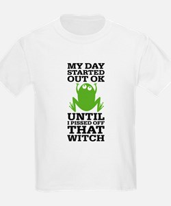 Funny Frog Mean Witch T-Shirt