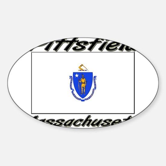 Pittsfield Massachusetts Oval Decal