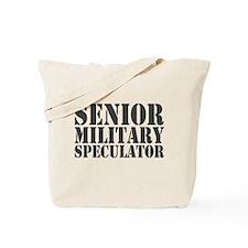 Sr Military Speculator Tote Bag