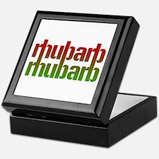 rhubarb Keepsake Box