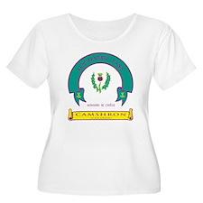 Plus Size Scoop Neck T-Shirt