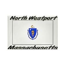 North Westport Massachusetts Rectangle Magnet