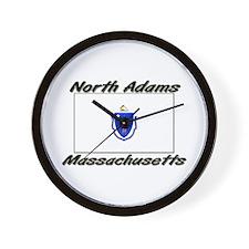 North Adams Massachusetts Wall Clock