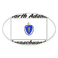 North Adams Massachusetts Oval Decal
