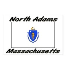 North Adams Massachusetts Postcards (Package of 8)