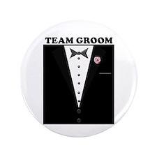 "Team Groom 3.5"" Button"