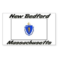 New Bedford Massachusetts Rectangle Decal