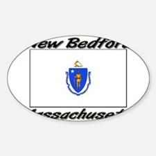 New Bedford Massachusetts Oval Decal