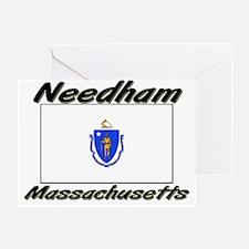 Needham Massachusetts Greeting Card