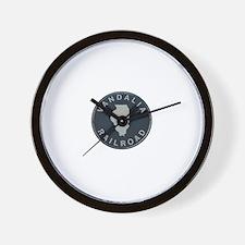 Vandalia Illinois Railroad Wall Clock