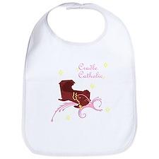 Girl Cradle Catholic Bib