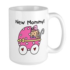 New Mommy Baby Girl Mug