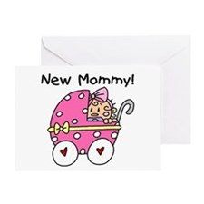 New Mommy Baby Girl Greeting Card