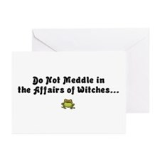 Do not meddle Greeting Cards (Pk of 10)