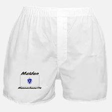 Malden Massachusetts Boxer Shorts