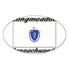 Longmeadow Massachusetts Oval Decal