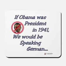 Speaking German Mousepad
