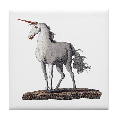 Unicorn 2 Tile Coaster