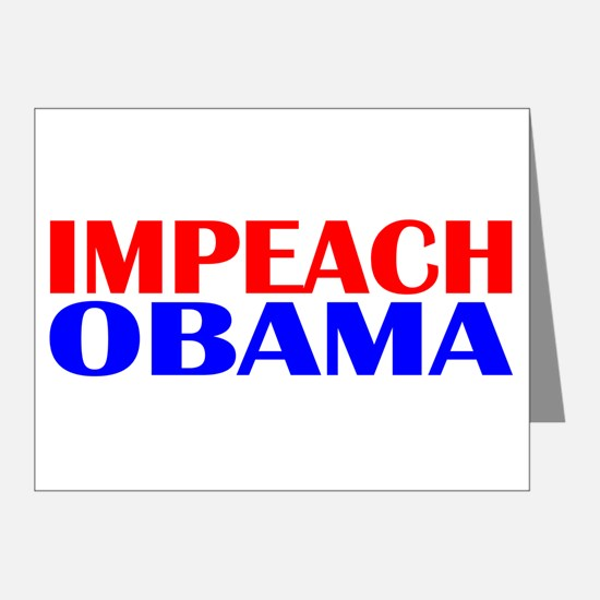 Impeach Obama Note Cards (Pk of 20)
