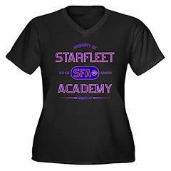 Property of Starfleet Academy Women's Plus Size V-