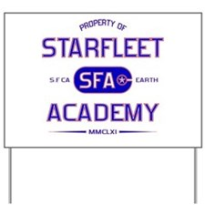 Property of Starfleet Academy Yard Sign