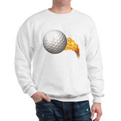 Fiery Golf Sweatshirt