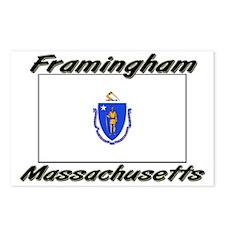 Framingham Massachusetts Postcards (Package of 8)