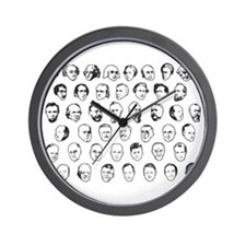 44th President Commemorative Wall Clock
