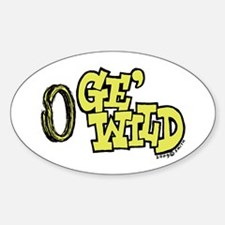Ge'wild Oval Decal