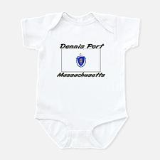Dennis Port Massachusetts Infant Bodysuit