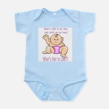 Tum Bum Pink Infant Creeper