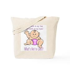 Tum Bum Pink Tote Bag