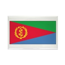 Eritrea Flag Rectangle Magnet (10 pack)