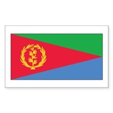 Eritrea Flag Rectangle Decal
